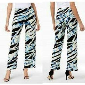 Alfani Women's Printed Wide-Leg Pants